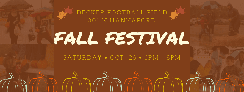 Facebook Cover Fall Festival